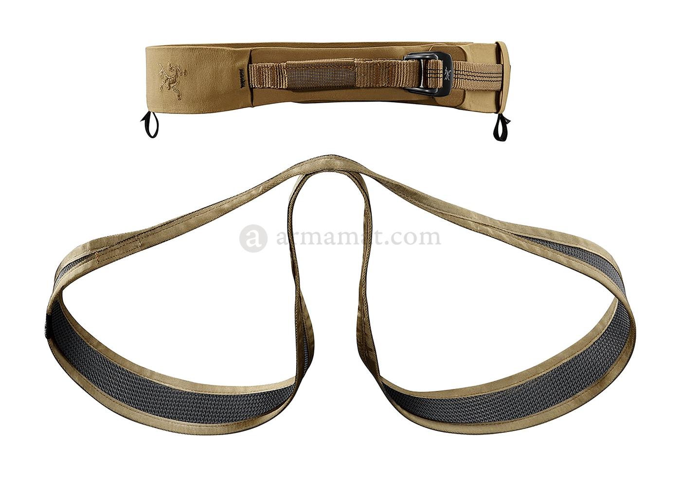 Arcteryx Klettergurt M : E rigger s harness coyote arc teryx m safety