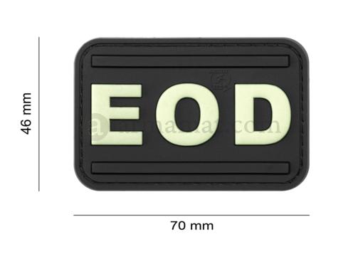 EOD Rubber Patch Glow in the Dark (JTG)