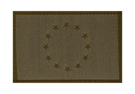 EU Flag Patch RAL7013
