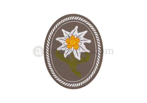 Edelweiss Patch Oval Color (Clawgear)