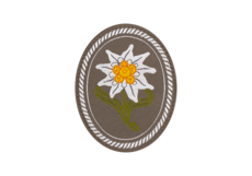 Edelweiss-Patch-Oval-Color-Clawgear