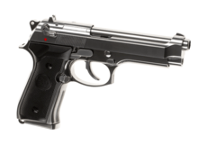 Elite-M92-Full-Metal-GBB-Silver-B-W