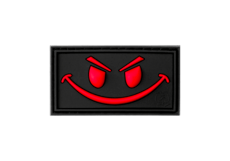 Evil-Smile-Rubber-Patch-Blackmedic-JTG