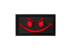 Evil-Smiley-Rubber-Patch-Blackmedic-JTG