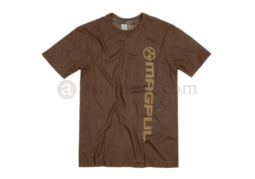 Fine Cotton Vert Logo T-Shirt Dark Brown (Magpul) L