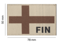 Finland Flag Patch Desert