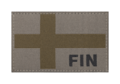Finland Flag Patch RAL7013