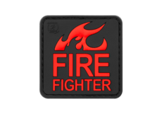 Fire-Fighter-Rubber-Patch-Blackmedic-JTG