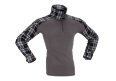 Flannel-Combat-Shirt-Black-Invader-Gear-M