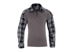 Flannel Combat Shirt Black M