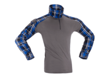 Flannel-Combat-Shirt-Blue-Invader-Gear-L