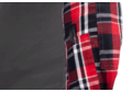 Flannel Combat Shirt Red M