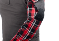 Flannel Combat Shirt Red S