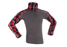 Flannel-Combat-Shirt-Red-Invader-Gear-L