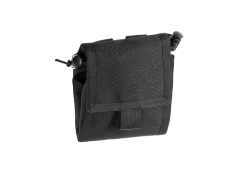 Foldable Dump Pouch Black