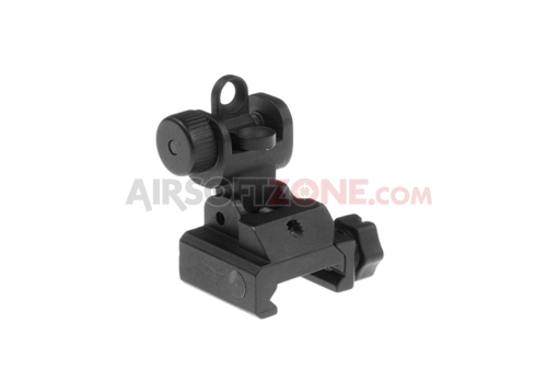 Folding Battle Sight Rear Black (APS)