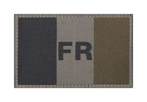 France Flag Patch RAL7013
