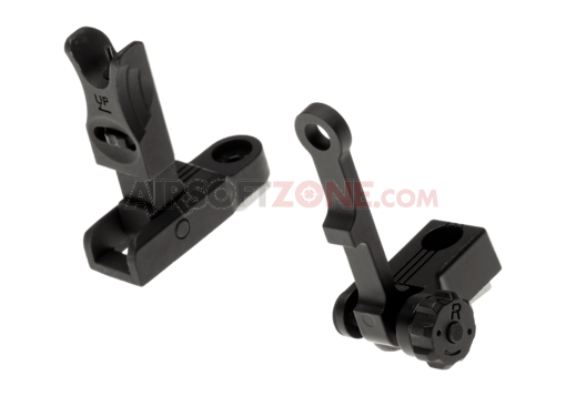 Front & Rear Sight Set M-LOK Black (Ares)