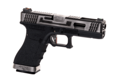 G-Force-17-SV-Silver-Barrel-Metal-Version-GBB-Black-WE