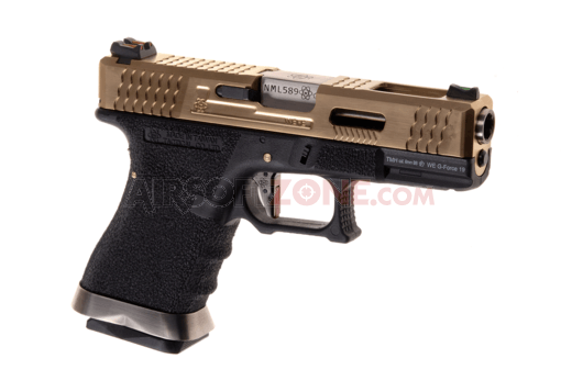 G-Force 19 Metal Version GBB Gold (WE)