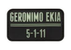 Geronimo-EKIA-Rubber-Patch-Glow-in-the-Dark-JTG
