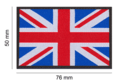 Great Britain Flag Patch Color