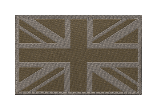 Great Britain Flag Patch RAL7013