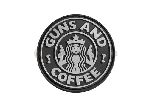 Guns and Coffee Rubber Patch SWAT (JTG)