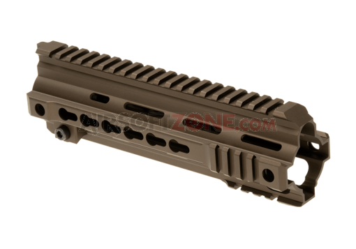 HK416 9 Inch Rail System Keymod Dark Earth (VFC)