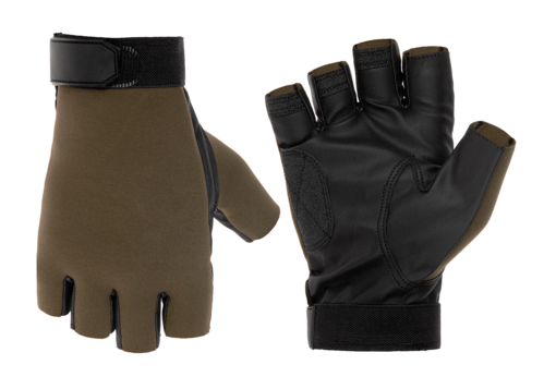 Half Finger Shooting Gloves OD XL