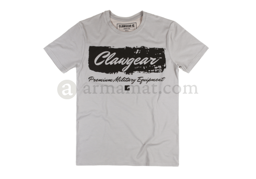 Handwritten Tee Light Grey (Clawgear) 2XL