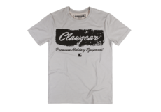 Handwritten-Tee-Light-Grey-Clawgear-S