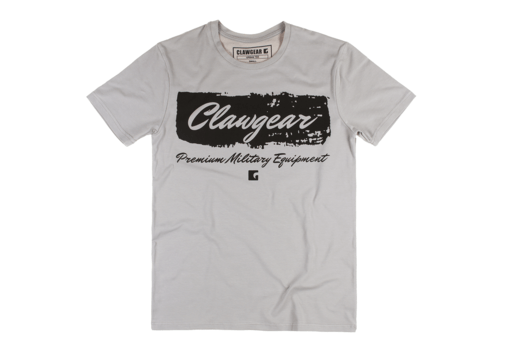Handwritten Tee Light Grey XL