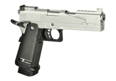 Hi-Capa-5.1-Full-Metal-Dragon-GBB-Silver-WE