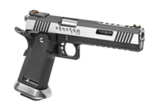 Hi-Capa-6-Force-A-Silver-Barrel-Full-Metal-GBB-Dual-Tone-WE
