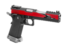Hi-Capa-6-T-Rex-Customs-Full-Metal-GBB-Red-WE