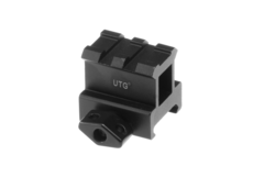High-Profile-2-Slot-Twist-Lock-Riser-Mount-Black-Leapers