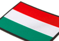 Hungary Flag Patch Color