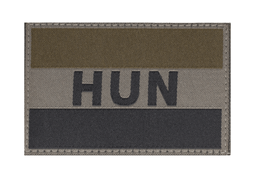 Hungary Flag Patch RAL7013