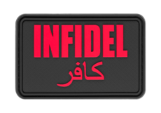 Infidel-Large-Rubber-Patch-Blackmedic-JTG