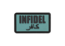 Infidel-Rubber-Patch-Foliage-Green-JTG