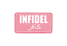 Infidel-Rubber-Patch-Pink-White-JTG