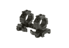 Integral-QD-25.4mm-Mount-Medium-Black-Leapers