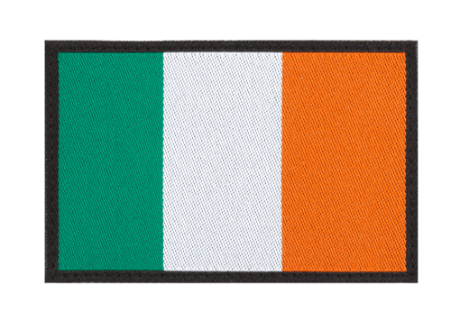 Ireland Flag Patch Color