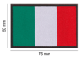 Italy Flag Patch Color