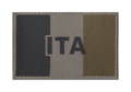 Italy Flag Patch RAL7013