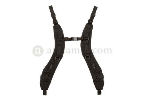 K Series Padded Shoulder Straps Black (Agilite)