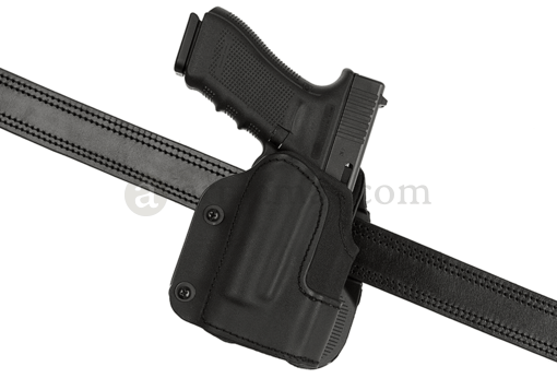 KNG Open Top Holster für Glock 17 M3 / M6 Paddle Black (Frontline)