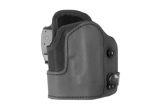 KNG-Open-Top-Holster-for-Glock-17-GTL-Left-Hand-Black-Frontline