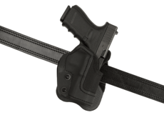 KNG-Open-Top-Holster-for-Glock-19-Paddle-Black-Frontline